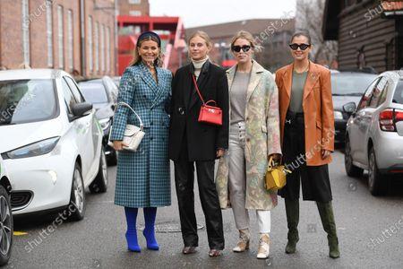 Stock Photo of Janka Polliani, Tine Andrea, Annabel Rosendahl, Darja Barannik