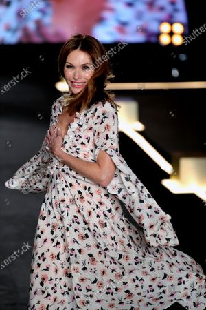 Spanish model Cristina Piaget participates in the L'oreal Paris Visibility Parade during the Mercedes-Benz Fashion Week 2020 Madrid in Madrid, Spain, 31 January 2020 (issued 01 February 2020). The Mercedes-Benz Fashion Week Madrid runs from 28 January to 02 February 2020.
