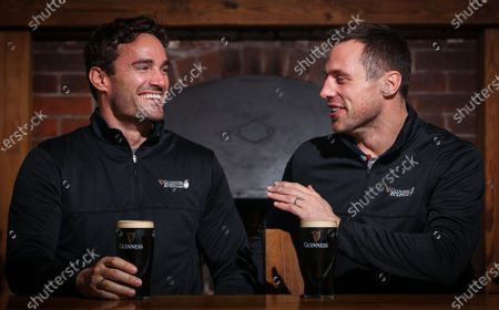 As part of the 2020 GUINNES SIX NATIONS, GUINNESS will host a series of events and experiences in venues and locations across the country, celebrating the fusion of cultures across the six competing nations open to everyone from rugby fans, rivals and friends alike to join. Visit www.Guinness.com to find out more throughout the Championship. . Ahead of tomorrow's Ireland v Scotland GUINNESS SIX NATIONS match former international rugby players and sometime rivals, Tommy Bowe and Thom Evans today hosted the first of the GUINNESS SIX NATIONS experiences. Tommy and Thom accompanied a group of GUINNESS competition winners on a scenic hike of Howth Head, joining the group for a pint of the black stuff and fish and chips in a local afterwards. . The GUINNESS SIX NATIONS connects people globally through its unique characteristics of fierce on-field rivalry and firm off-field friendships. GUINNESS will bring this to life by taking the Championship out of the stadia and into the host cities, bringing people from rival nations together to share some of the best cultural experiences from across the six nations. GUINNESS will present four culturally themed experiences hosted by well-known rival rugby legends and famous Irish and French chefs.