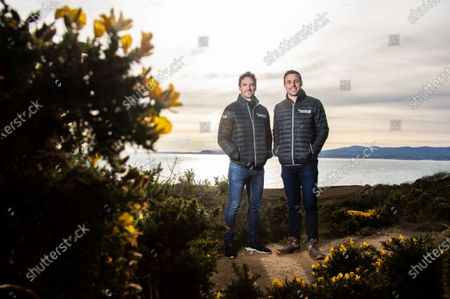Editorial photo of Tommy Bowe And Tom Evans Kick Off The First In A Series Of GUINNESS SIX NATIONS Experiences Available To The Public - 31 Jan 2020