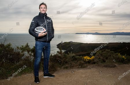 Editorial image of Tommy Bowe And Tom Evans Kick Off The First In A Series Of GUINNESS SIX NATIONS Experiences Available To The Public - 31 Jan 2020