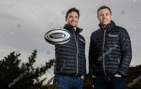 Editorial picture of Tommy Bowe And Tom Evans Kick Off The First In A Series Of GUINNESS SIX NATIONS Experiences Available To The Public - 31 Jan 2020