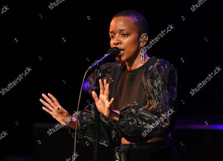 Editorial picture of Jamila Woods in concert at The Parker Playhouse, Florida, USA - 30 Jan 2020