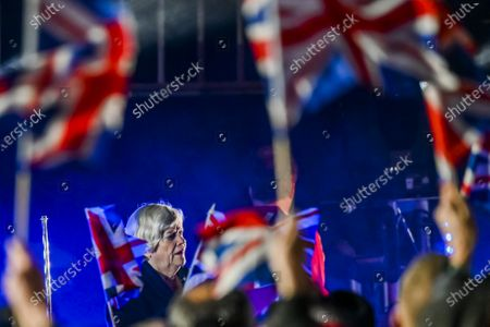 Editorial photo of Brexit Day, London, UK - 31 Jan 2020
