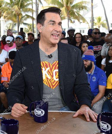 Editorial picture of Exclusive - Super Bowl LIV, Fox Sports South Beach studio, Miami, USA - 31 Jan 2020