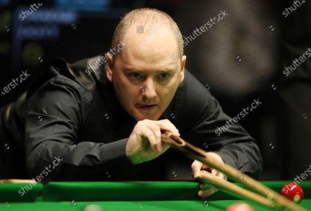 Graeme Dott (SCO)  / Sport / Snooker Billard / Berlin German Masters Tempodrom / 30.01.2020  Fax: +49 30 440 580 29 /