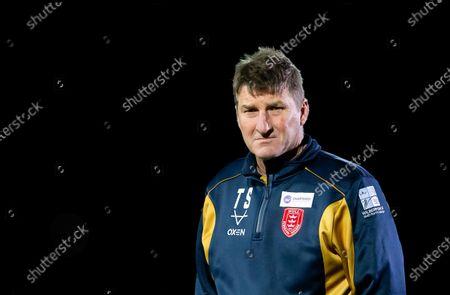 Hull KR coach Tony Smith.