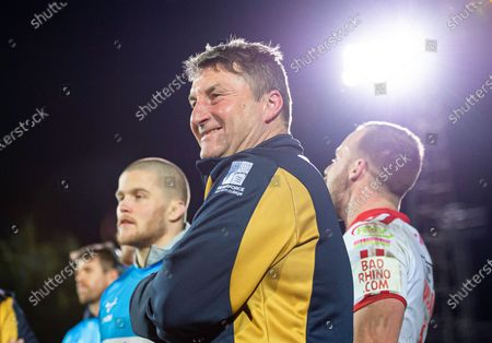 Hull KR coach Tony Smith delighted after his side's opening game victory over Wakefield.