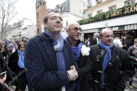 Editorial image of The funeral of Michou at the Saint-Jean church, Montmartre, Paris, France - 31 Jan 2020