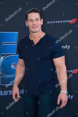"""John Cena attends the the Road to """"Fast & Furious 9"""" Concert at Maurice A. Ferré Park, in Miami Beach, Fla"""