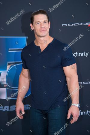 """Stock Image of John Cena attends the the Road to """"Fast & Furious 9"""" Concert at Maurice A. Ferré Park, in Miami Beach, Fla"""