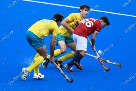 Editorial photo of Australia v Great Britain, FIH Pro League, Hockey, Sydney Olympic Park Hockey Centre, Australia - 02 Feb 2020