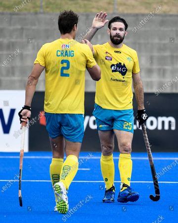 Editorial image of Australia v Great Britain, FIH Pro League, Hockey, Sydney Olympic Park Hockey Centre, Australia - 02 Feb 2020