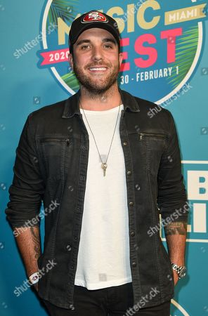 Editorial image of Bud Light Super Bowl Music Fest, Day 2, Arrivals, American Airlines Arena, Miami, USA - 31 Jan 2020