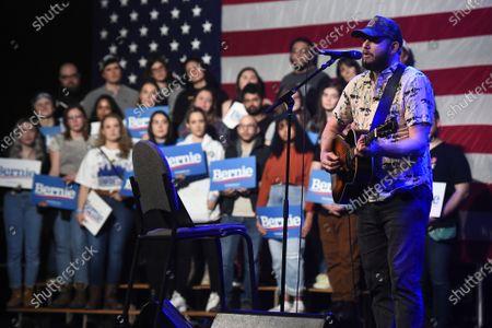 Editorial picture of Campaign event for US Senator Bernie Sanders in Clive, Iowa, USA - 31 Jan 2020