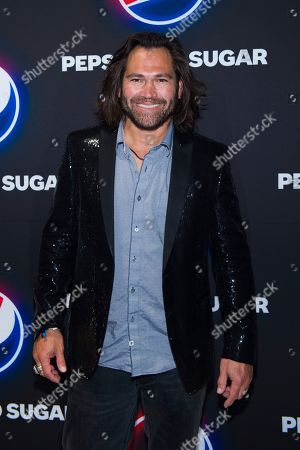 Johnny Damon attends the Pepsi Zero Sugar Super Bowl Party at Meridian on Island Gardens in Miami, in Miami, Fla