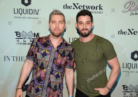 Stock Picture of Lance Bance, Michael Turchin. Singer Lance Bass and husband Michael Turchin attend the Bootsy On the Water at the Miami Seaquarium on Friday, Jan. 31,2020, in Miami, FL