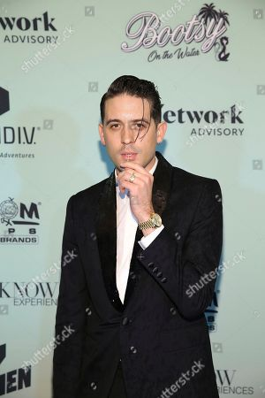 G-Eazy attends the Bootsy On the Water at the Miami Seaquarium on Friday, Jan. 31,2020, in Miami, FL