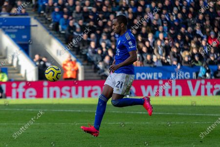 Ricardo Pereira (21) during the Premier League match between Leicester City and Chelsea at the King Power Stadium, Leicester