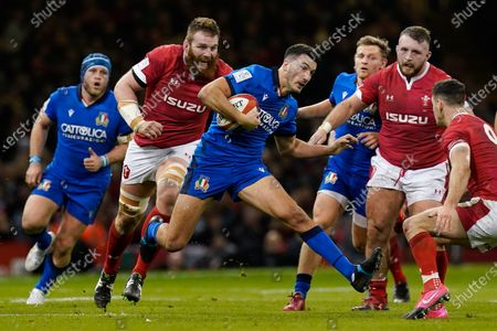 Editorial image of Wales vs Italy, Cardiff, United Kingdom - 01 Feb 2020