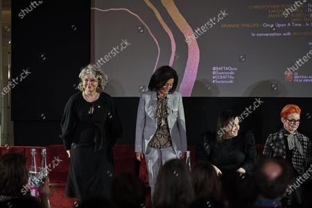 Mayes C. Rubeo, Jany Temime, Arianne Phillips and Sandy Powell