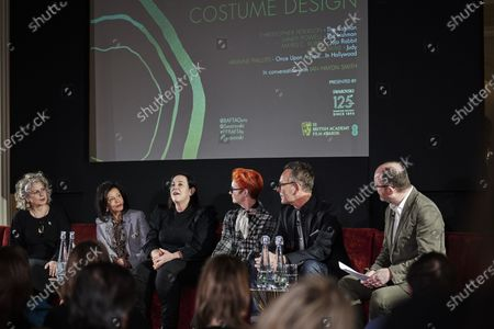 Mayes C. Rubeo, Jany Temime, Arianne Phillips, Sandy Powell, Christopher Peterson and Ian Haydn Smith