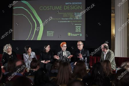 Stock Picture of Mayes C. Rubeo, Jany Temime, Arianne Phillips, Sandy Powell, Christopher Peterson and Ian Haydn Smith