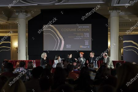 Stock Image of Mayes C. Rubeo, Jany Temime, Arianne Phillips, Sandy Powell, Christopher Peterson and Ian Haydn Smith