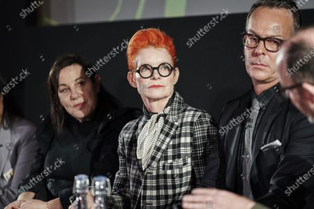 Arianne Phillips, Sandy Powell, Christopher Peterson and Ian Haydn Smith