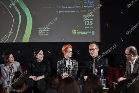 Jany Temime, Arianne Phillips, Sandy Powell, Christopher Peterson and Ian Haydn Smith