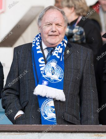 Stock Picture of Barry Fry in the visitors box during Ipswich Town vs Peterborough United, Sky Bet EFL League 1 Football at Portman Road on 1st February 2020