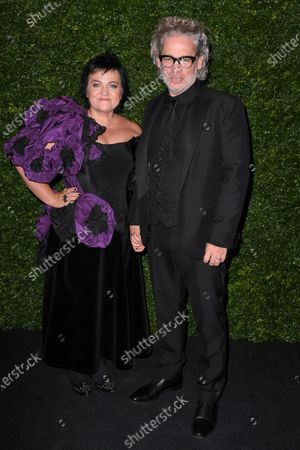 Dalia Ibelhauptaite and Dexter Fletcher