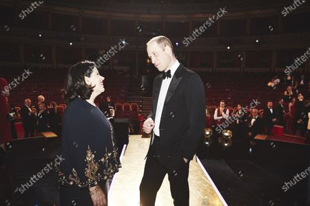 Pippa Harris and Prince William