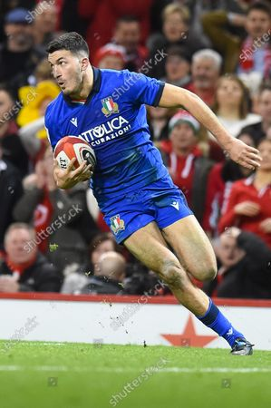 Editorial photo of Wales v Italy - Guinness Six Nations - 01 Feb 2020