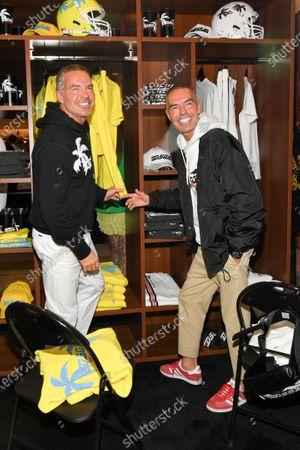Stock Image of Dan Caten and Dean Caten
