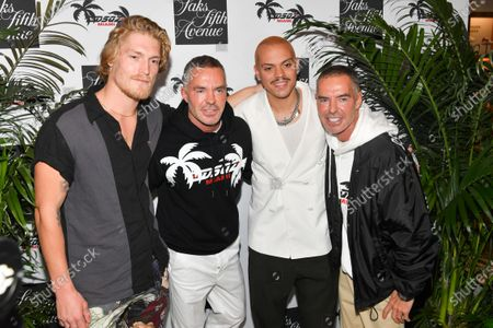 Editorial photo of Dsquared2 x Saks Fifth Avenue Collection Launch Party, Miami, USA - 01 Feb 2020