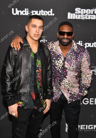 Austin Mahone and DJ Irie
