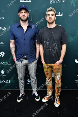 Alex Pall and Drew Taggart of The Chainsmokers