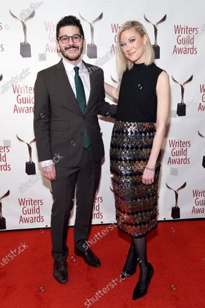 Editorial image of 72nd Annual Writers Guild Awards, Arrivals, Edison Ballroom, New York, USA - 01 Feb 2020