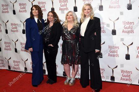 Stock Image of Tina Fey, Rachel Dratch, Paula Pell and Amy Poehler