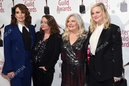Editorial picture of 72nd Annual Writers Guild Awards, Arrivals, Edison Ballroom, New York, USA - 01 Feb 2020