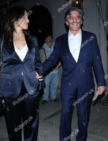 Stock Picture of Geraldo Rivera and Erica Levy