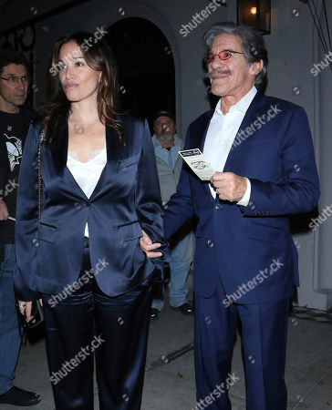 Stock Image of Geraldo Rivera and Erica Levy