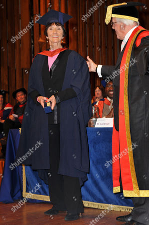 Editorial photo of Celebrities awarded honours at the University of East London, Britain - 03 Dec 2009
