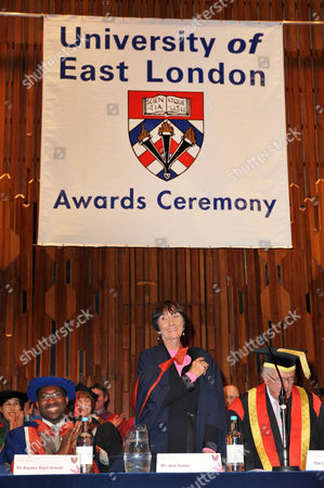 Editorial picture of Celebrities awarded honours at the University of East London, Britain - 03 Dec 2009