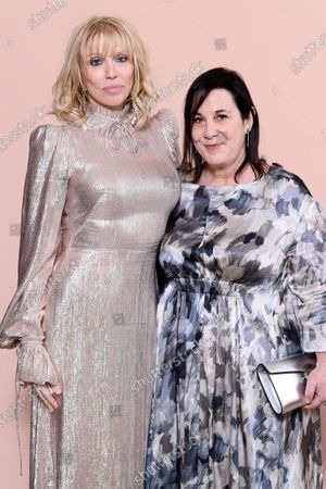 Courtney Love and Arianne Phillips