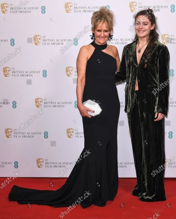 Lorraine Ashbourne and Ruby Serkis