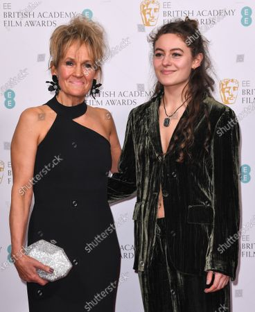 Stock Image of Lorraine Ashbourne and Ruby Serkis