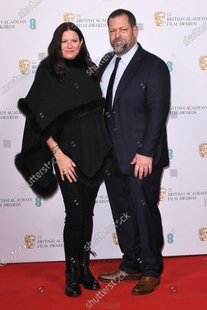 Editorial picture of 73rd BAFTA British Academy Film Awards, Nominees Party, Arrivals, Kensington Palace, London, UK - 01 Feb 2020