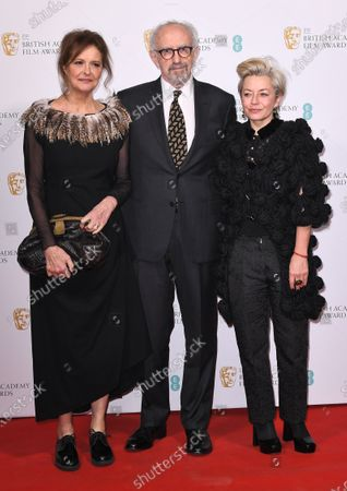 Kate Fahy, Jonathan Pryce and guest